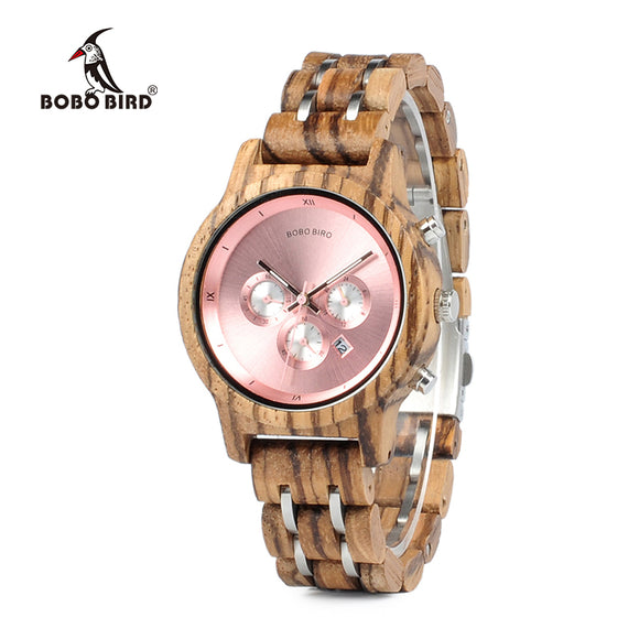 BOBO BIRD C-P18 - Wooodster - Wooden Watches, Sunglasses & Accessories