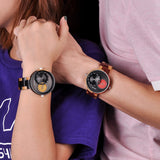 BOBO BIRD W-R10 - Double Time Zone Wooden Quartz Watch