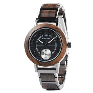 BOBO BIRD - W-R12/R13 Wooden Watch for Men & Women.