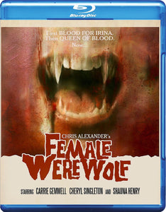 Female Werewolf - Signed Blu-ray