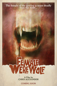 Female Werewolf - Signed DVD