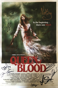 Queen of Blood - Signed Cast and Crew Poster (Limited Quantity)