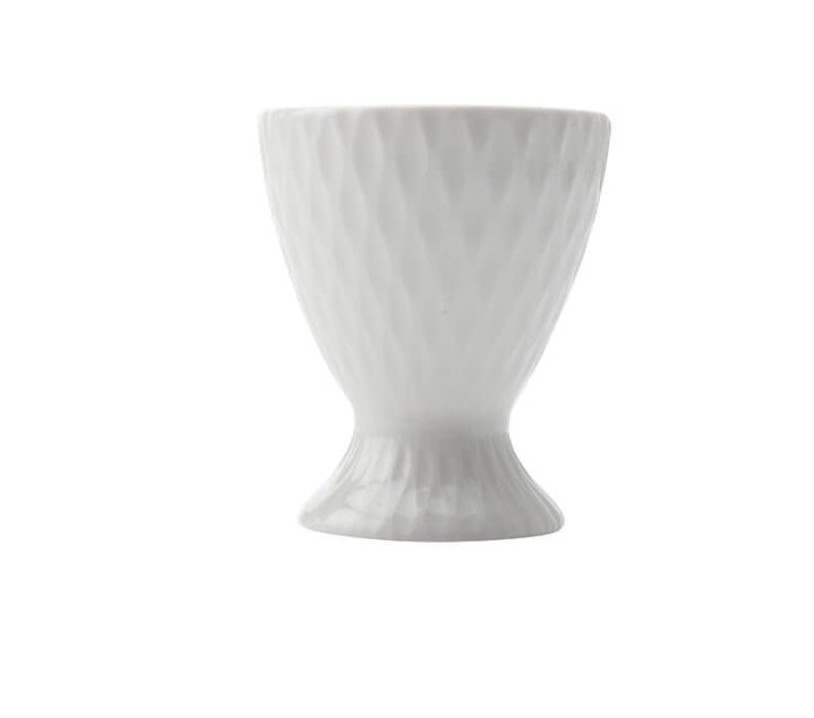 White basics diamond egg cup