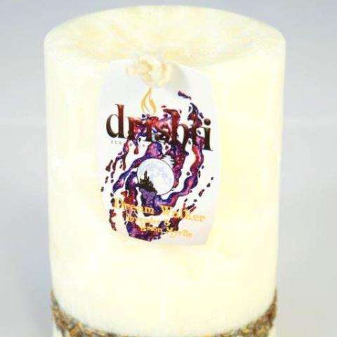 Drishti Short Pillar Candles