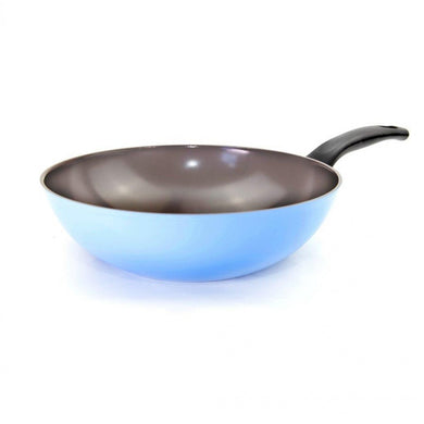 Neoflam Reverse 30cm Wok Induction Light blue