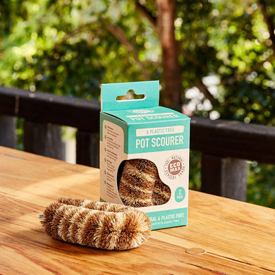 Eco Max Premium boxed pot scourer twin pack