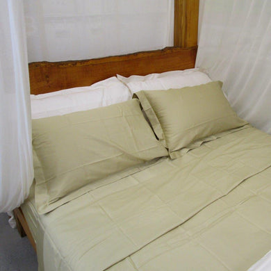 Simple Luxury Sheet Set in Golden Sand