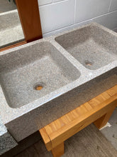 Load image into Gallery viewer, yellow granite dual sink