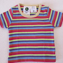Load image into Gallery viewer, Baby Short Sleeve Crews - Stripe