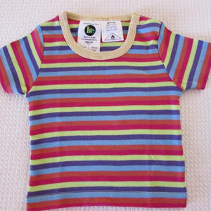 Baby Short Sleeve Crews - Stripe