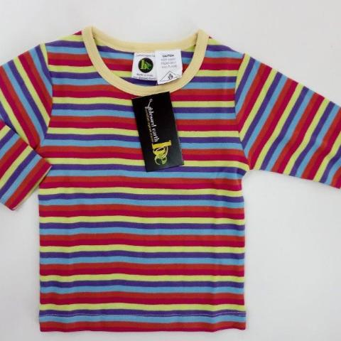 Baby Long Sleeve Crews - Stripe