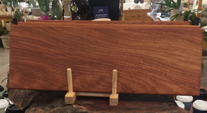 New Guinea Rosewood chopping board.