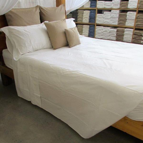 Simple Luxury Sheet Set in White