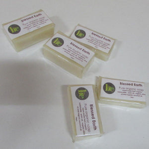 Blessed Earth Pure Organic Soap Aroma-Free