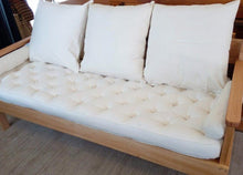 Load image into Gallery viewer, Natural Timber Sofa Lounge