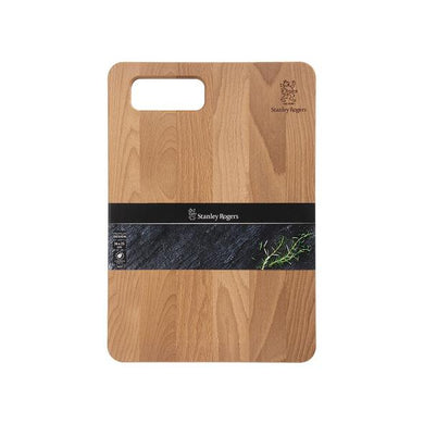 chopping board  -  Thermo-beech medium-wood smoked