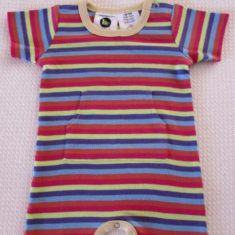ddc637232 Load image into Gallery viewer, Baby Romper- Stripe ...