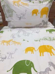 Animal Print Simple Luxury Quilt Set