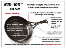 Load image into Gallery viewer, Aus-ion Satin by Solidteknics 30cm Dual Handle Wok