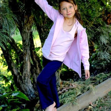 Girls Navy Bask Pant