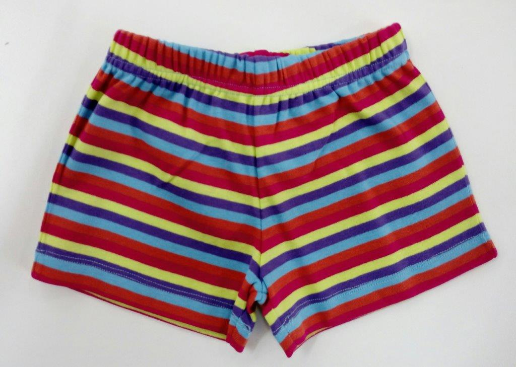 Baby Shorts - Stripe