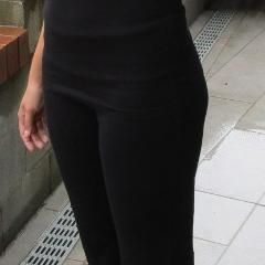 Ladies Bask Pant in Black