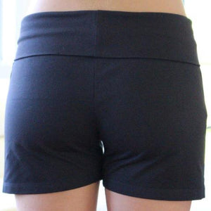 Girls Navy Bask Short