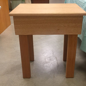 Natural Timber Bed Side Table