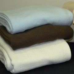 Cotton Blankets - Natural