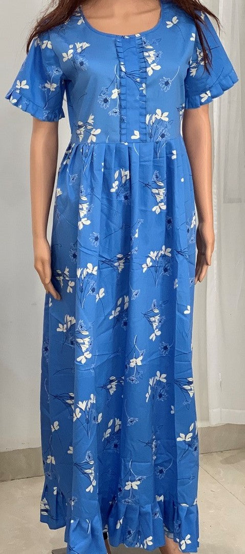 Ladies Gown - Stormetta Blue