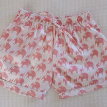 Load image into Gallery viewer, Ladies  Boxer Short - Sateen Elephant