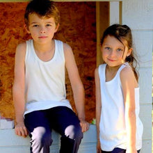 Load image into Gallery viewer, Childrens Organic Cotton Singlets
