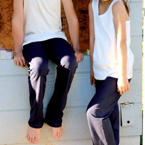 Childrens Leisure Pant in Navy
