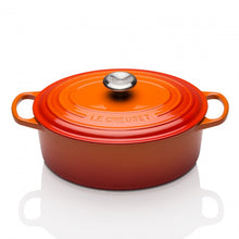 Load image into Gallery viewer, Le Creuset - SIGNATURE CAST IRON OVAL CASSEROLE