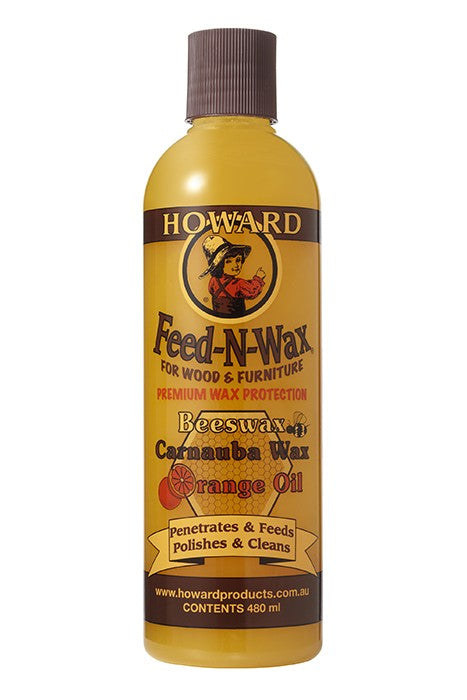 Howards Feed-N-Wax 480ml