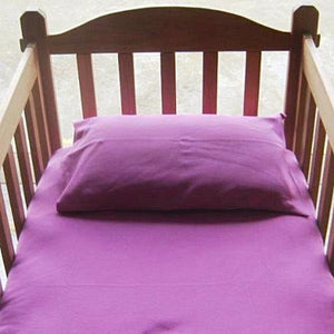 Flat Cot Knitted Sheet - 9 colour options