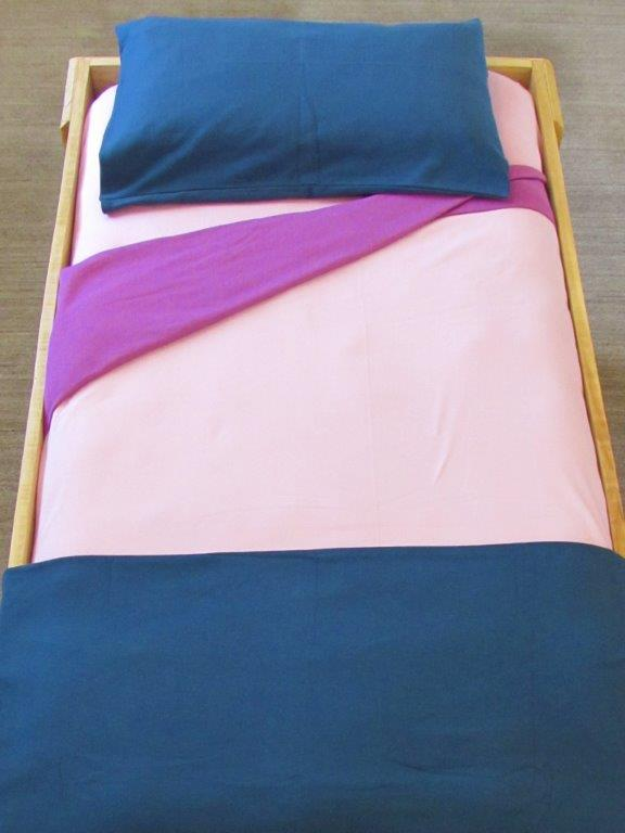 Cot Knitted Pillowcase 9 Colour Options Blessed Earth