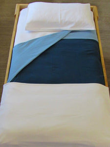 Cot Knitted Fitted  Sheet - 9 colour options
