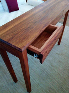 Natural Timber Hall Table