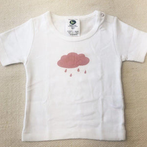 Baby Short Sleeve Printed Crews -