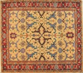 "Hand-knotted Wool Carpet ""Herati"" 163 x 260cm"