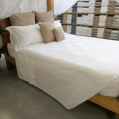 Hotel Quality Flat Sheet in White