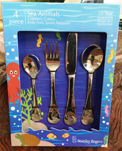 Load image into Gallery viewer, Cutlery -4 piece kids set