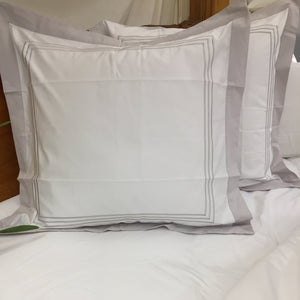 Pillow Cases in Magnificent Silver Lining