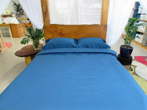 Simple Luxury Sheet Set in Moroccan Blue