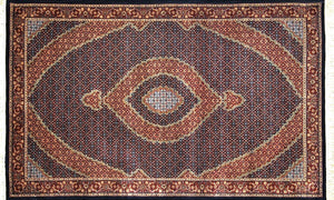 "Persian Style Hand-knotted Wool Rug 155x257cm ""NAIN"""