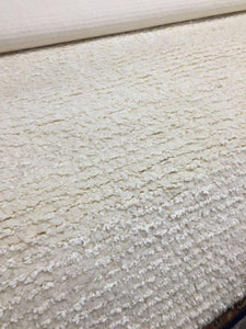 Hand-tufted Organic Wool/Cotton Shag in natural