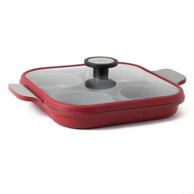 Steamplus 27cm Two Handle pan Induction
