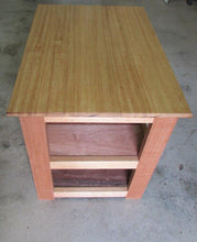 Load image into Gallery viewer, Natural Timber Shelved Cabinet