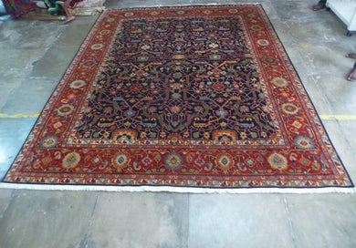 Hand-knotted Wool Persian Carpet 182x 283cm